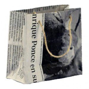 Bolsa de papel reciclado pequeña