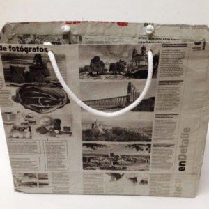 Bolsa papel reciclado Grande Ancha