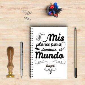 Agenda original personalizable