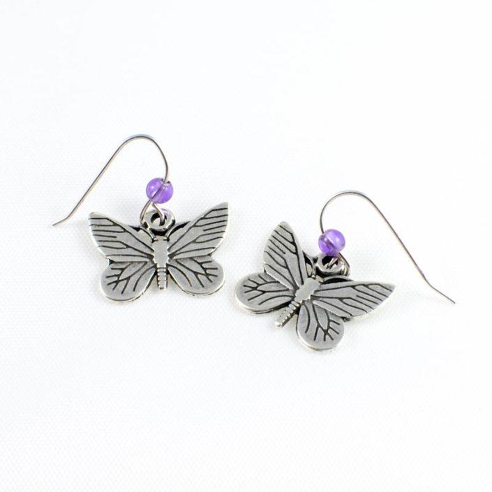 Pendientes mariposa